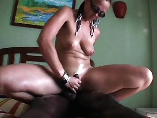 Itnerracial Hubby Films Wife Cuckold