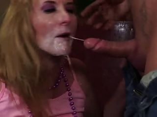 Milf With Big Tits Gets Fucked With Big Toys