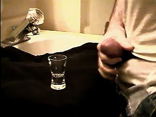 Another Huge Shot Glass Filling Cum Shot.avi
