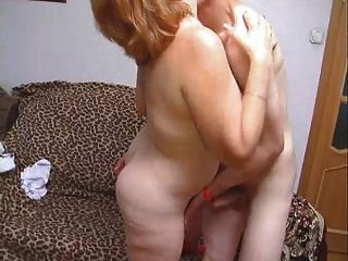 Young man fuck older woman