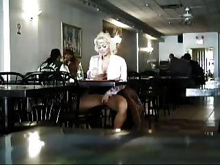 Masturbation In A Restaurant In New York