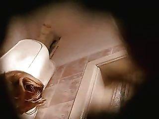 Spying Mom In Toilet