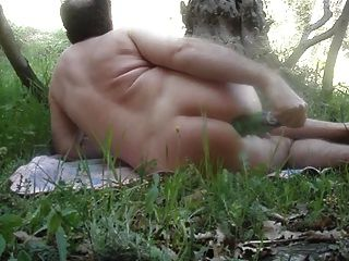Fisting Anal In The Prairy
