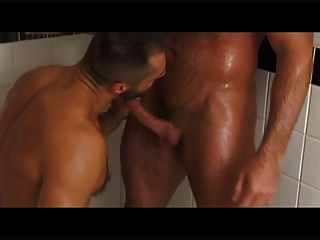Hairy Daddies Blake Nolan And Arpad Miklos Pound Black Stud