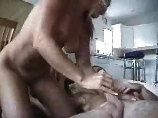 Guy Cumming Inside His Blond Girlfriend Great Fuck!