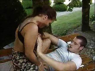 German Hot Outdoor Sex With A Stranger