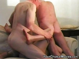 Two Lucky Pensioners Fuck An Amateur Teen - Part 2