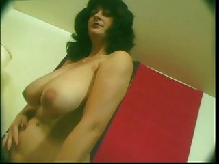 Busty Mom Toying Hairy Pussy