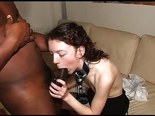 Slim White Wife Enjoying Bbc