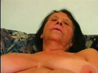 Chesty Old Granny Fucks