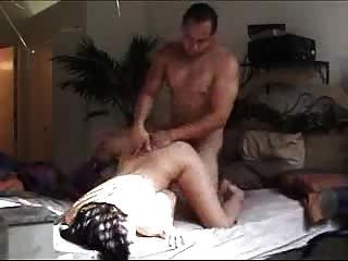 Huge Titty Brunette Slut Getting Fucked By Her Boss