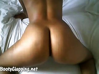 Naked Ass Booty Clapping Black Teen Girl