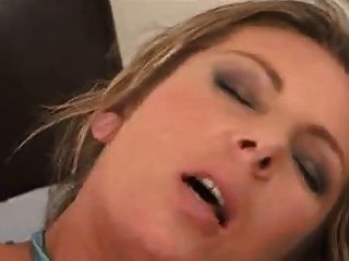She Is Milf, Hairy And Blonde Does Anal And Likes Creampie