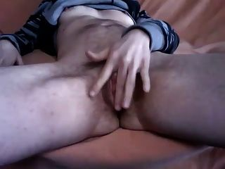 Sexy Female To Male Transsexual Showing His New Cock