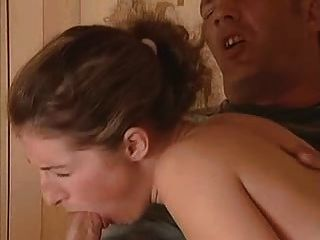 Old Man Gets Lucky With Busty German