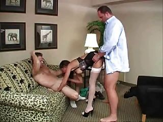 Wife Is Shared Between Her Husband And A Friend