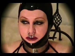 Latex-fetish-bbw With Huge Boobs