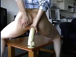 Mum With Big Dildo