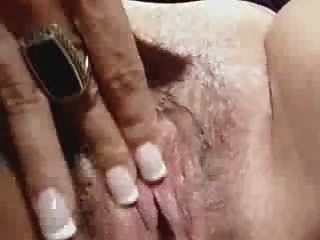 Horny Mature Lady Masturbating Her Wet Pussy
