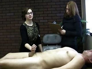 Nerd Girl In Jerk-test