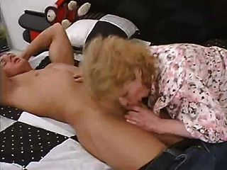 Big Ass Germen Granny Fucked