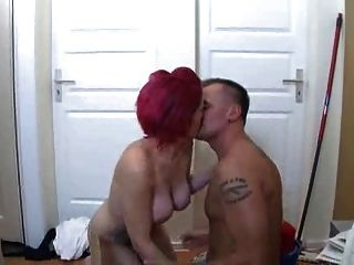 Redhead Gets Fucked - Rothaarige Wird Gefickt