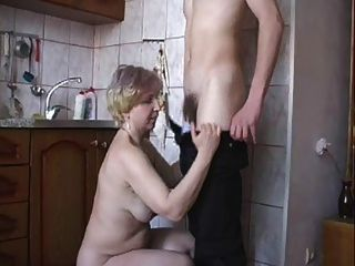 Fuck My Stepmother In The Kitchen