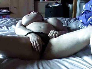 Busty Redhead Hot Pussy Masturbation By Troc