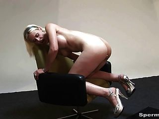 Kinky Blonde Gets Multiple Facials - P1