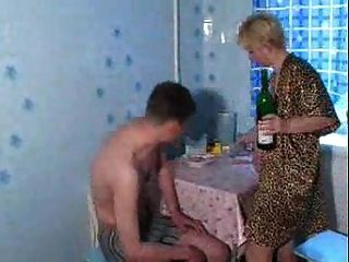 Russian Mature Slut Lana Fucked