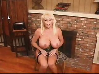 Hot Busty Mature Blonde Kandi Coxx Solo