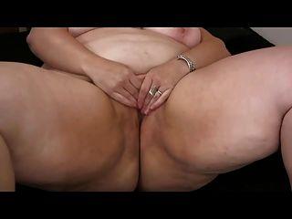 Fat Obese Bbw Ex Gf Masturbating Her Wet Pussy