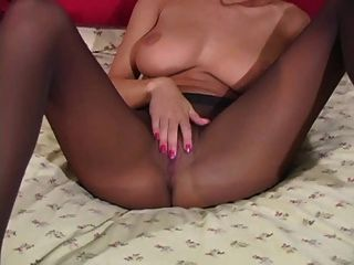 Pantyhose Jerk Off Encouragement