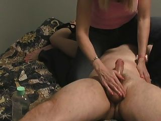 Handjob With Great Cumblasts