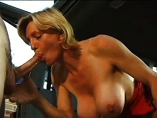 Horny Mature Simone Fucked In A Suv