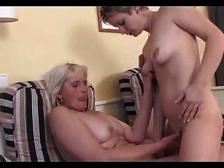 Grandma And Young Girl