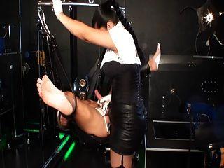 Tatjana-cruela Milks Her Slave