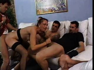 Mature Slut In Gangbang