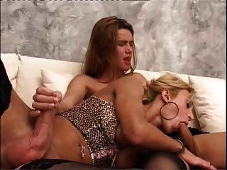 2 Hot Trannies Playing