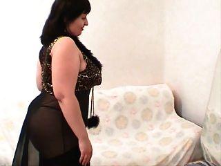 Chubby Girl In Lingerie