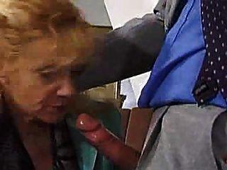German Granny Gets Her Reward