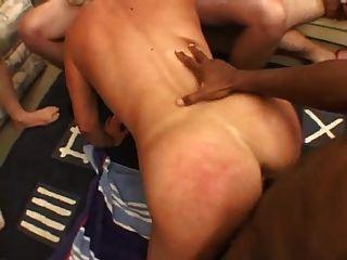 Hot Mature Babe Gangbang