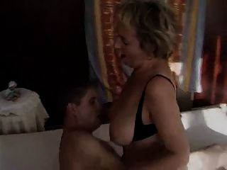 Hairy Pussy Mature Woman With Young