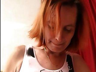 Anal Granny In Open Pantyhose Fucks