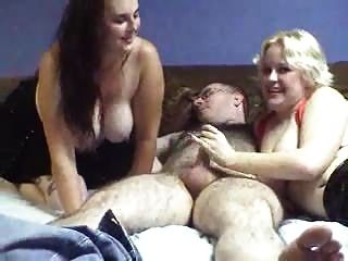 Two Chubby Girls Share One Guy Mc85