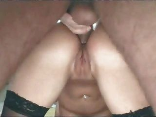Sexy Wife In Pantyhose Loves Anal Sex