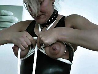 Mature Extrem Tits Bondage And Nipple