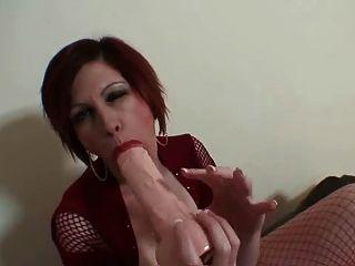 Trudy Stephens - Big Tits, Big Dildo