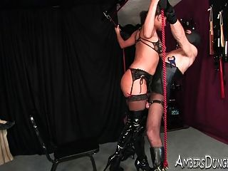 She Likes To Fuck When He Is Bound And In Pain