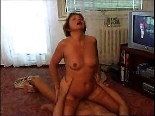 Mature Whore And Young Guy